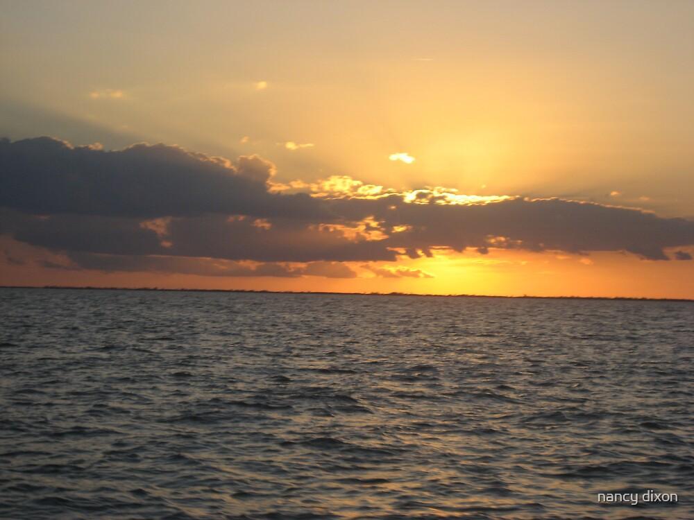 sunset by nancy dixon