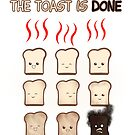 The Toast is Done - Large format by nimaru