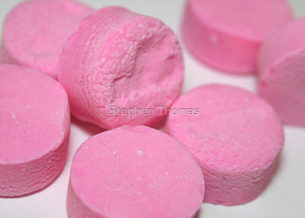 Pink Mints by Stephen Thomas