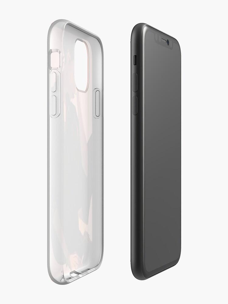 Coque iPhone «bangs saccadés», par bngtans