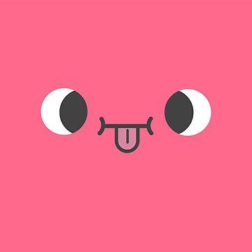 Nah nah nah nah - Raspberry Tongue Out Face by nate-bear