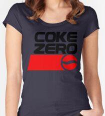 COKE ZERO Women's Fitted Scoop T-Shirt