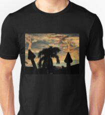 TIKI TORCHES AT SUNSET T-Shirt