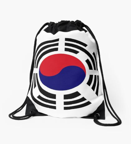 Korean Patriot Flag Series  Drawstring Bag