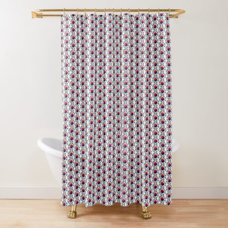 Korean Patriot Flag Series  Shower Curtain
