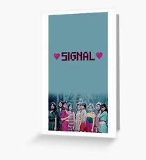 TWICE_Signal_Music Video Greeting Card