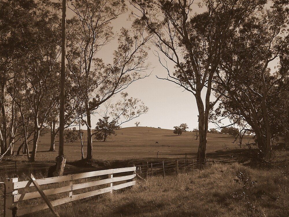 Country Farm by Chris Kean