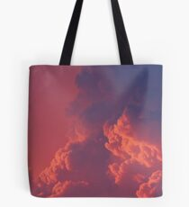 Fluffy, Glowing Clouds Tote Bag
