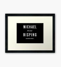 Michael Bisping Framed Print