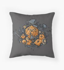 RPG United Throw Pillow