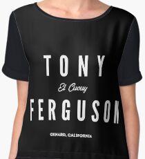 Tony Ferguson Women's Chiffon Top