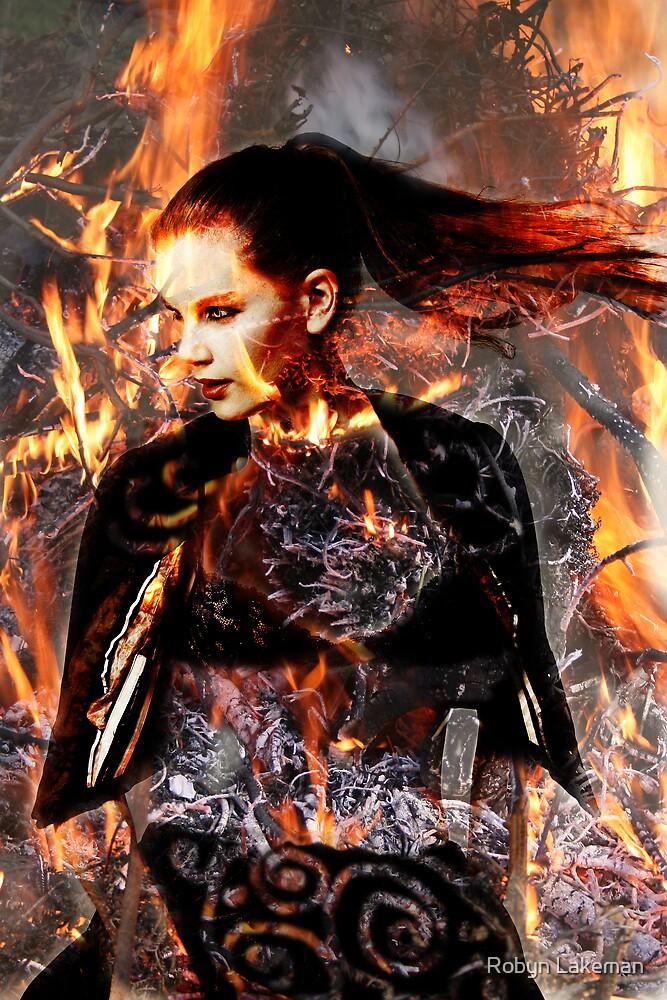 Hell hath no fury ....... by Robyn Lakeman