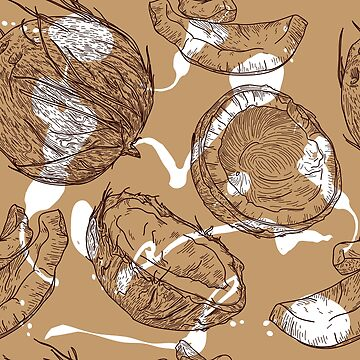 Go Nuts for Coconuts Pattern by samposnick