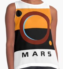 The Expanse- Martian Flag Contrast Tank