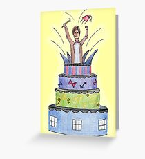 The Cake Greeting Card