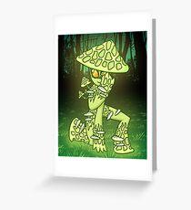 Lux Shroom Greeting Card