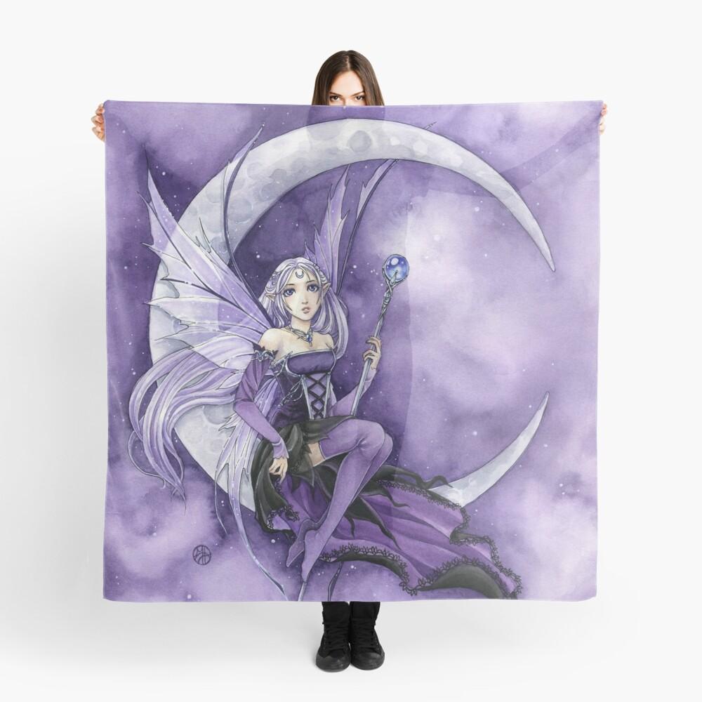 Purple Moon Gothic Anime Fairy Scarf
