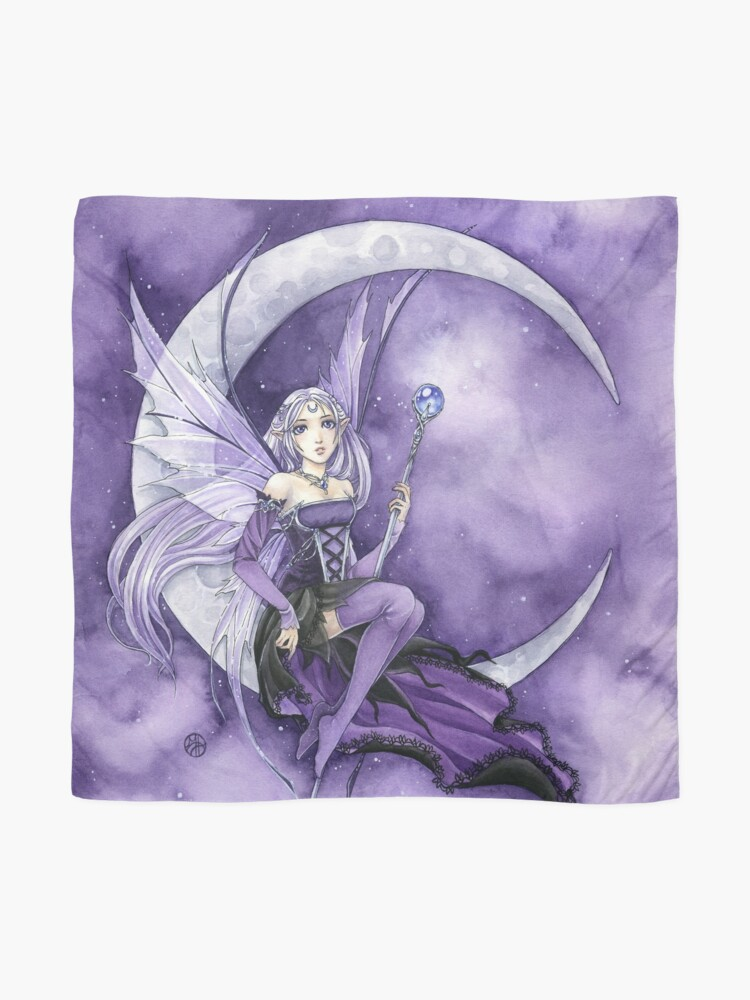 Alternate view of Purple Moon Gothic Anime Fairy Scarf