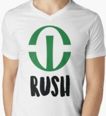 Rush University Men's V-Neck T-Shirt
