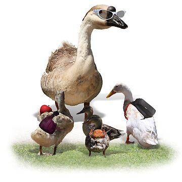 Back to School, my little ducklings! by Gravityx9