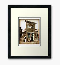 Old West Bandit Framed Print