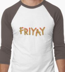 Friyay Men's Baseball ¾ T-Shirt