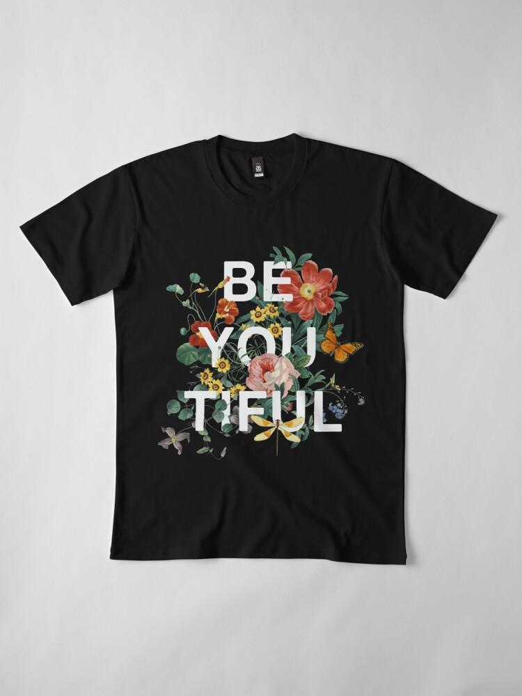 Alternative Ansicht von Sei Du Tiful Premium T-Shirt