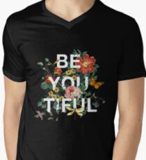 Be You Tiful Men's V-Neck T-Shirt