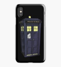 bigger on the inside. iPhone Case/Skin