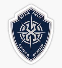 The Expanse- Star Helix Logo Sticker