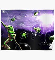 Amphibia Bubblemania Poster