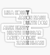 The Vlog Squad Sticker