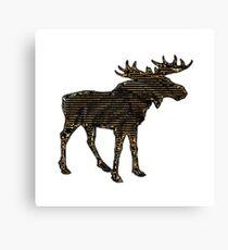 Shadow Moose  Canvas Print