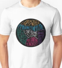 What We Believe Embroidery-based Art T-Shirt