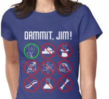 Star Trek: Just a Country Doctor Womens Fitted T-Shirt