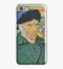 Self-Portrait with Bandaged Ear 1899 Vincent Van Gogh iPhone Case/Skin