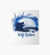 Wolf Nature Image Art Board