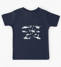 Helicopter Kids Tee