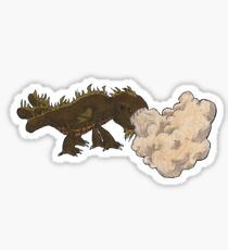 The Bellowing Fart Sticker