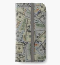 $100 Bills - Front & Back - New & Old Style iPhone Wallet/Case/Skin