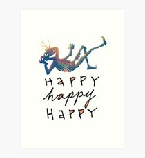 Happy Lil Dude Art Print