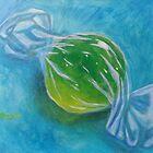 Lime Sourball by Pamela Burger