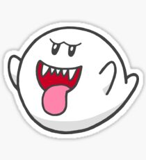 Super Mario Freunde - Boo Sticker