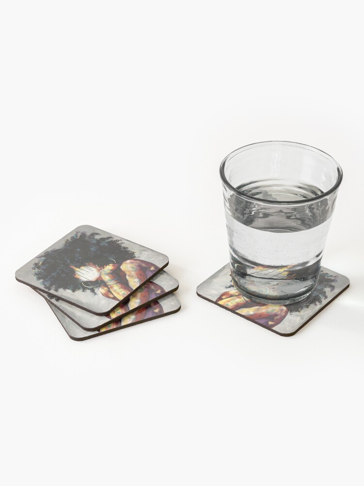 Alternate view of Naturally II Coasters (Set of 4)