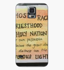 1 Peter 2:9  Case/Skin for Samsung Galaxy
