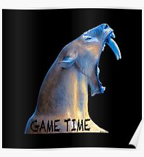 Hear Me Roar - Game Time Poster