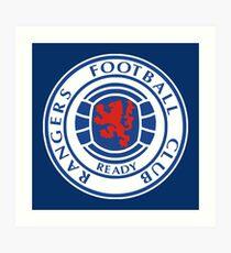 Glasgow Rangers Art Print