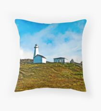 Cape Spear Scenery Throw Pillow