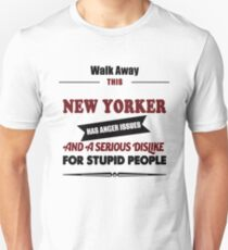 New York Yorker USA America gift t shirt T-Shirt