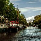 Amsterdam Canals by Jennifer Craker